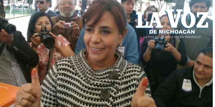 Luisa María Calderón pedirá hoy licencia al Senado