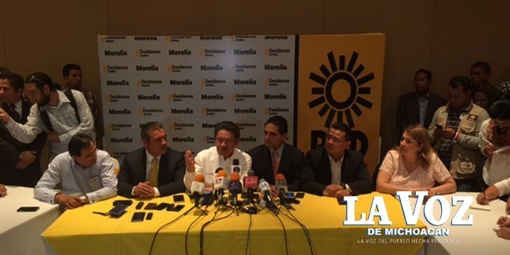 Es Raúl Morón candidato del PRD por Morelia
