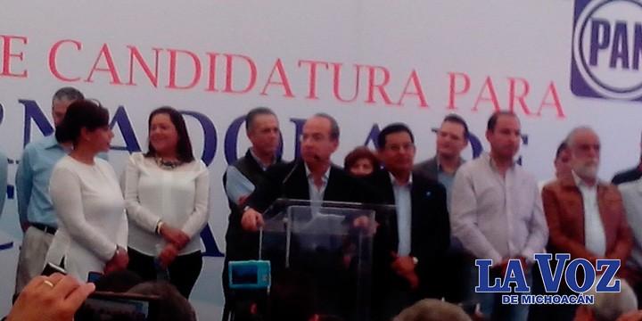 Gobiernos estatales tejieron redes de corrupción con grupos criminales: Felipe Calderón
