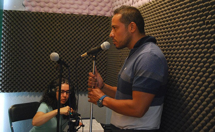 Inicia grabación de radionovela en radio comunitaria