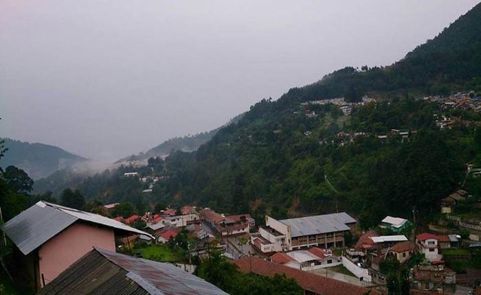 Angangueo, zona vigilada por lluvias