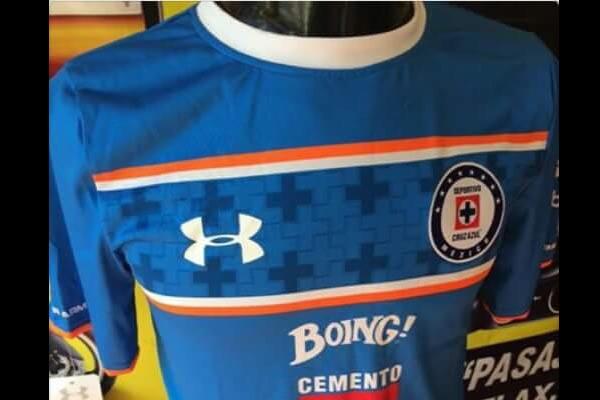 Posible playera de Cruz Azul circuló en redes