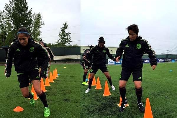 Tri Femenil entrenó con todo de cara al Mundial