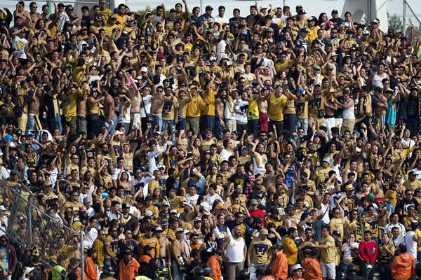Aficionados Pumas no pudieron ver el juego