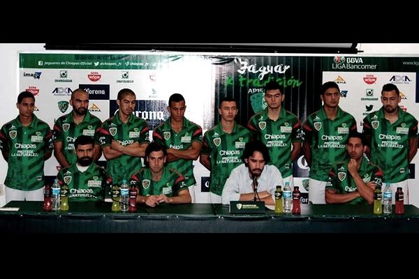 Jaguares presentó oficialmente a sus refuerzos