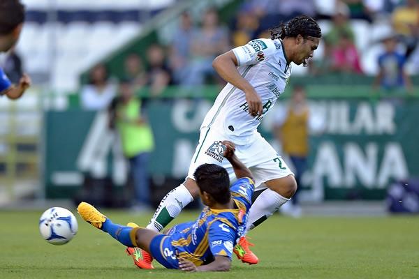 León rescató empate ante San Luis en Copa
