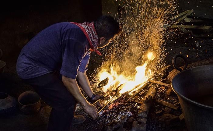 """""""En pique"""", producción de artesanías en Santa Clara"""