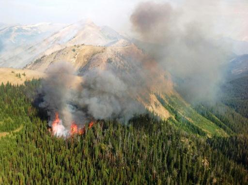 EEUU se desangra económicamente para luchar contra los incendios