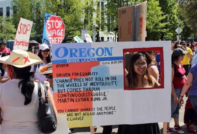 Oregon: Demandan reincorporar ley de licencias para conducir