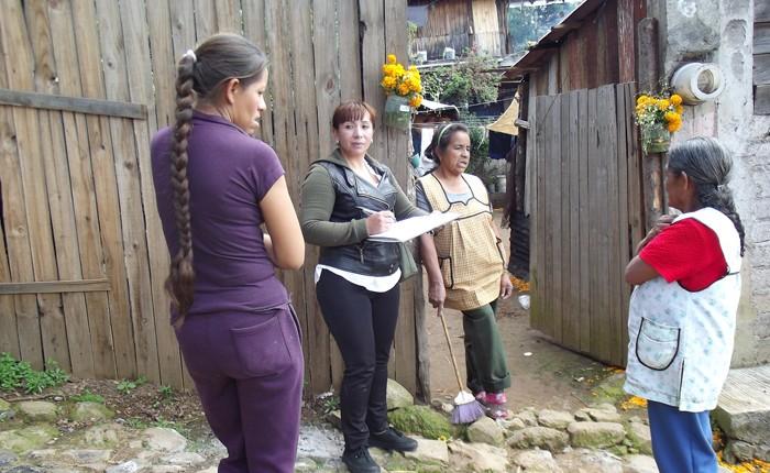 Realiza Ayuntamiento censo para apoyo de vivienda