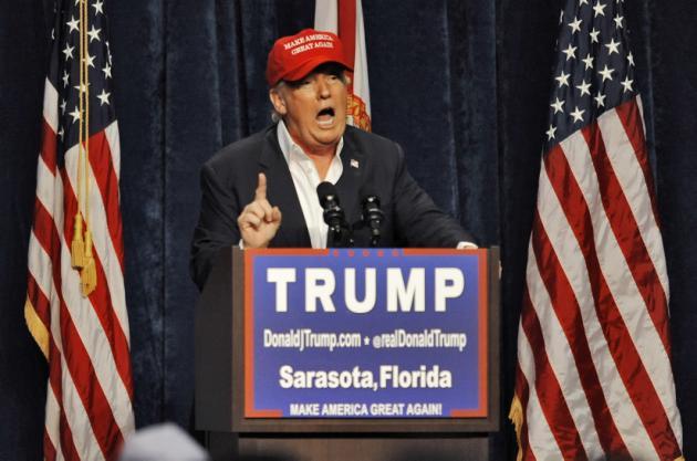 Bush dice que Trump no es un precandidato serio