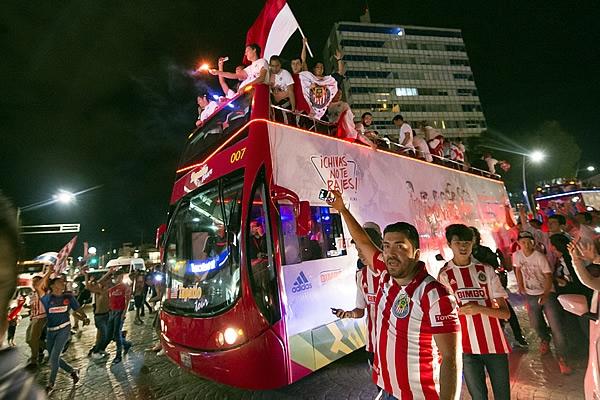 No habrá doblete para Chivas en el 2015