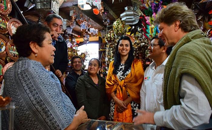 Secretario de Turismo recorre Santa Clara del Cobre