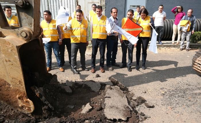 Construirán un colector de aguas residuales