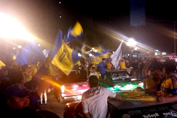 Afición de Tigres restregó triunfo a Rayados