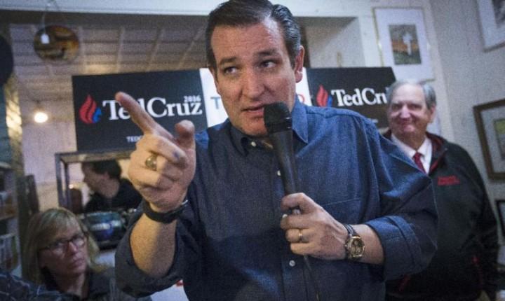 Ted Cruz contradice la ciencia en torno al cambio climático