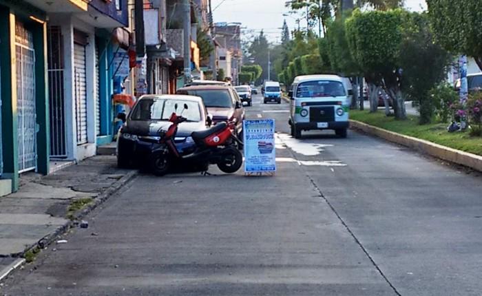 Persisten problemas de vialidad en Los Reyes
