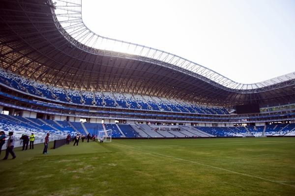 Rayados y Puebla, nominados a mejor estadio de 2015