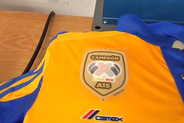 Portará Tigres emblema de campeón en jersey