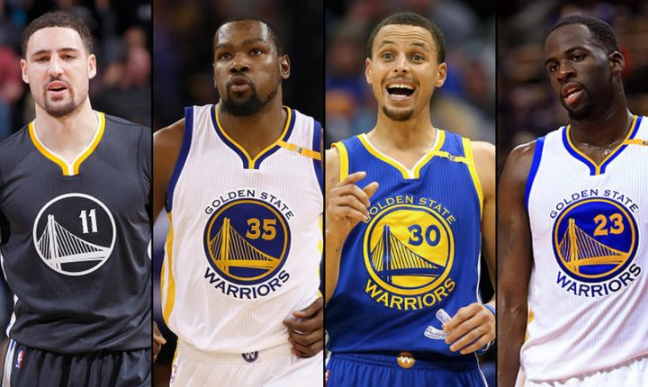 Póker de Warriors, protagonistas del NBA All Star 2017