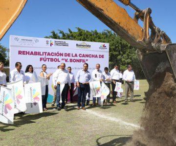 Inyectan 10 mdp a obras en Buenavista