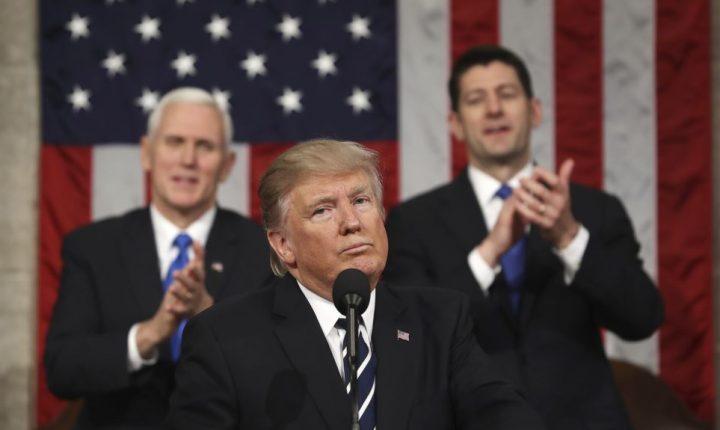 Reacciones mixtas en el Congreso y en todo EE.UU. al discurso de Trump