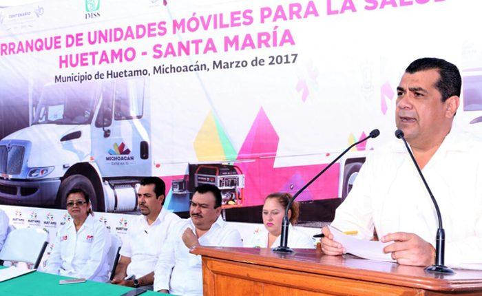 Convoy de la Salud, un éxito en Huetamo: Elías Ibarra