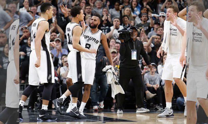 Spurs alcanzan la cima de la Conferencia Oeste