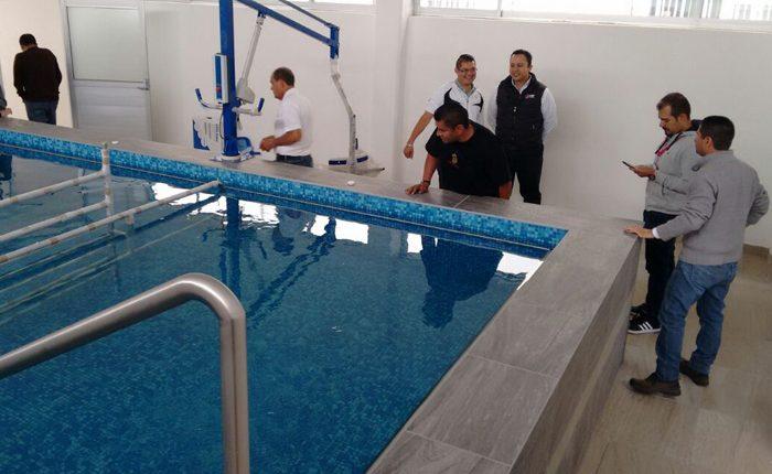 Entregan área de hidroterapia en DIF de Uruapan