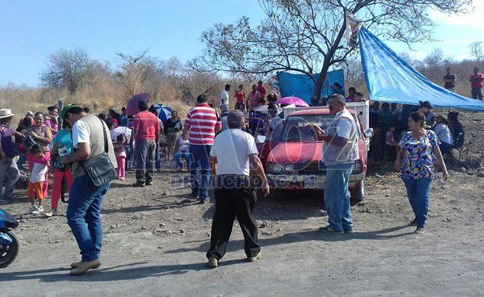 Invasión de terrenos desata conflicto en Apatzingán