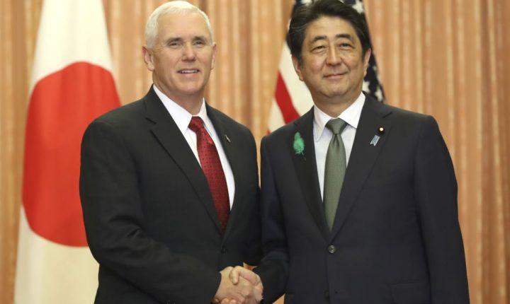 """Pence: """"Todas las opciones están sobre la mesa"""" con Corea del Norte"""