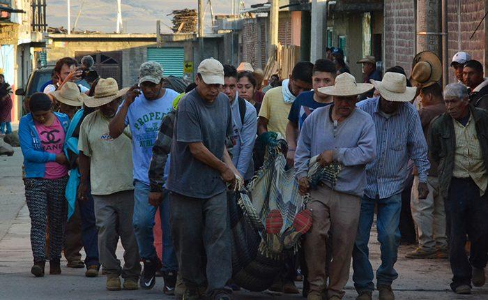 Anuncian movilizaciones en protesta por caso Arantepacua