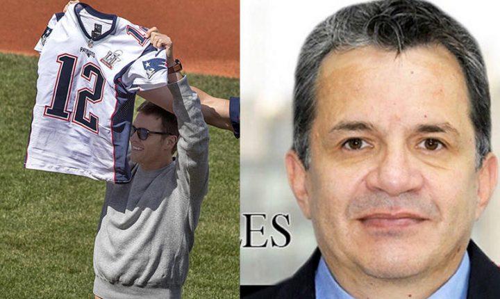 Coleccionista 'echó de cabeza' al ladrón del jersey de Brady