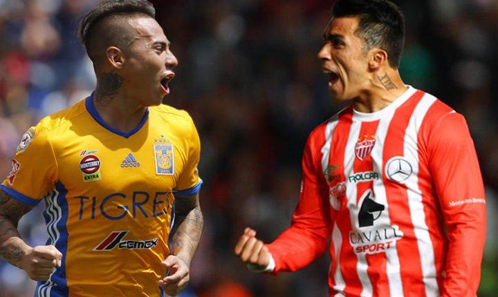 Edu Vargas y Edson Puch se reencontrarán como rivales en Aguascalientes