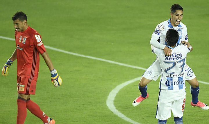 Pachuca regresa al Mundial; Tigres repite la frustración