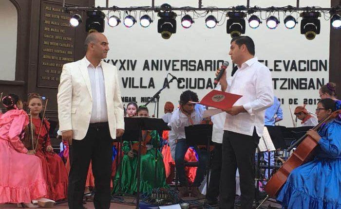 Concluyen las festividades de Villa a Ciudad en Apatzingán