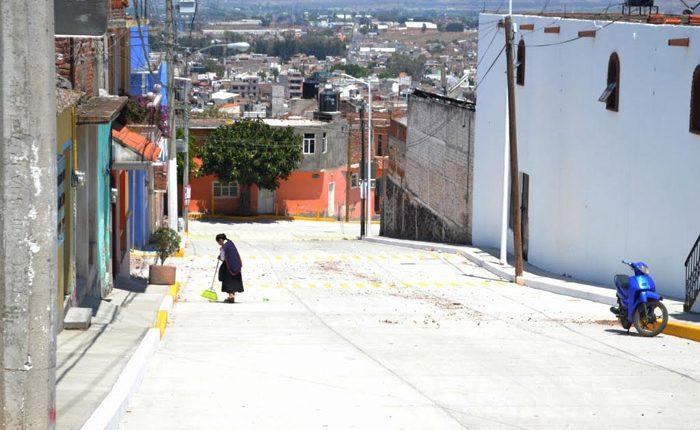 Invierten 6.2 mdp en mejoramiento de calles en La Piedad