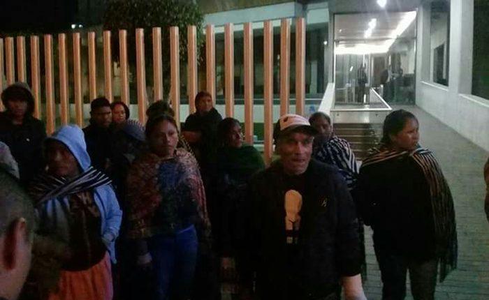 Liberan al último comunero preso de Arantepacua
