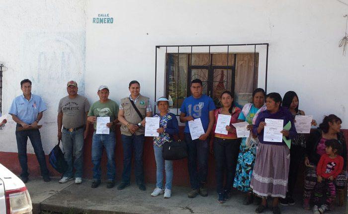 Continúa en la entidad entrega de apoyos para vivienda