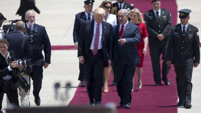 Trump inicia visita oficial a Israel
