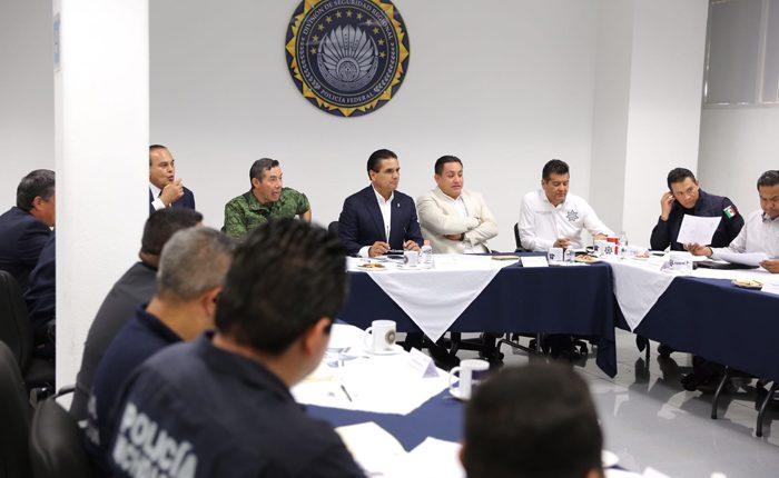 Supervisan estrategia de seguridad en Uruapan
