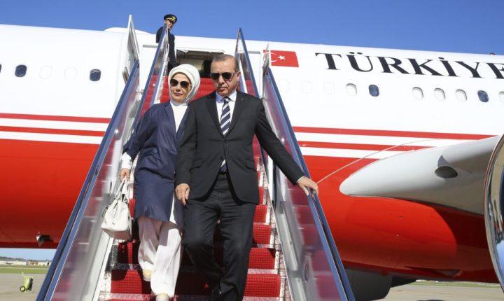 Trump recibe al presidente turco en la Casa Blanca