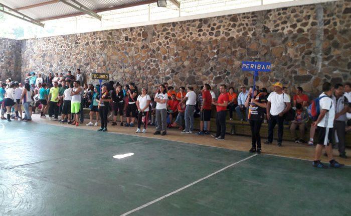 Juegos Deportivos en Los Reyes, en su etapa regional