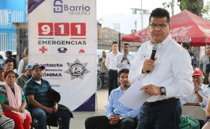 """Inician acciones de """"Barrio Seguro"""" en Pátzcuaro"""