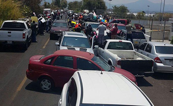 Se manifiestan en Los Reyes ante instalación de BOM (Video)