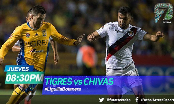 TV Azteca, una opción más para la ida entre Tigres y Chivas