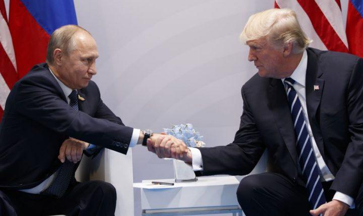 Trump se reúne por primera vez con Putin en la cumbre del G-20