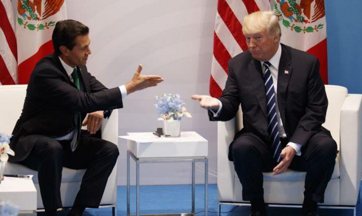Trump reitera que México pagará por el muro