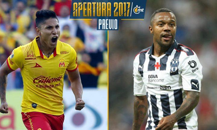 Rayados y Morelia abren el telón del Apertura 2017