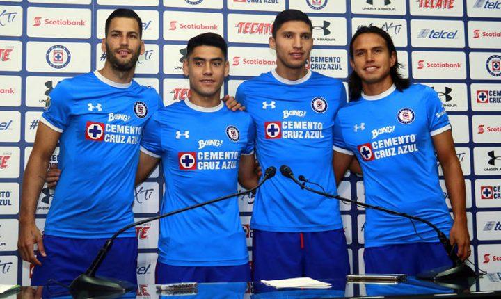 Cruz Azul presentó a refuerzos para el Apertura 2017